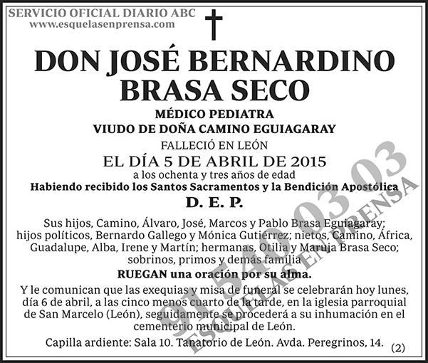 José Bernardino Brasa Seco